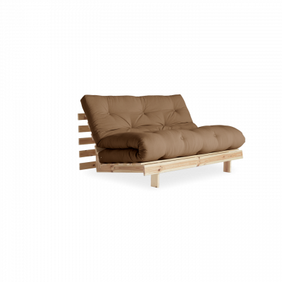 Sofa Bed Roots 140 | Raw/Mocca