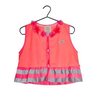 Fluo Vest Girls Rosie | Coral