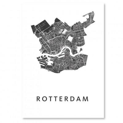 City Map Rotterdam