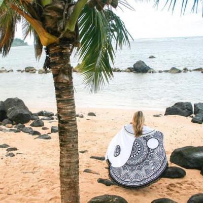 Round Beach Towel | Sea and Sand