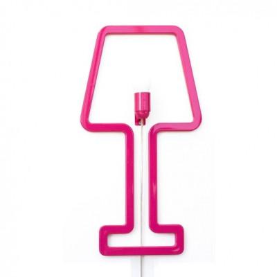 Wall Lamp ColoredShape Pink