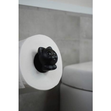 Porte-papier Hygiénique Roll Meo   Noir