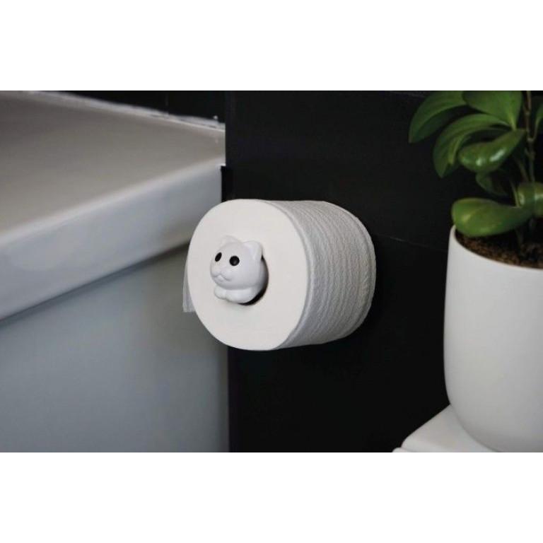 Porte-papier Hygiénique Roll Meo | Blanc