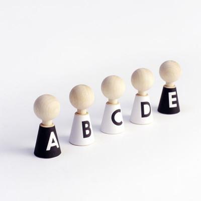 Alphabet Kieselsteine