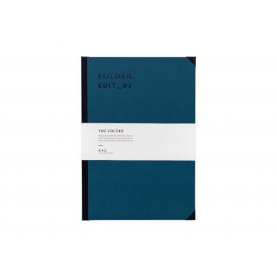Folder A4 - Petrol Blue