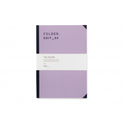 Folder A4 - Dusty Lavender