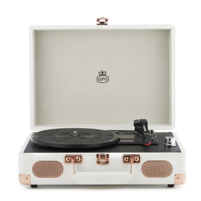 Soho Record Player   Cream