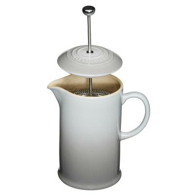 Kaffeekanne mit Presse | 0,8 L | 22 cm | Nebelgrau