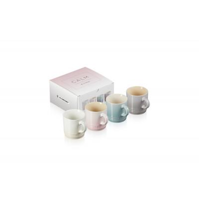 Set mit 4 Espressotassen | 10 cl