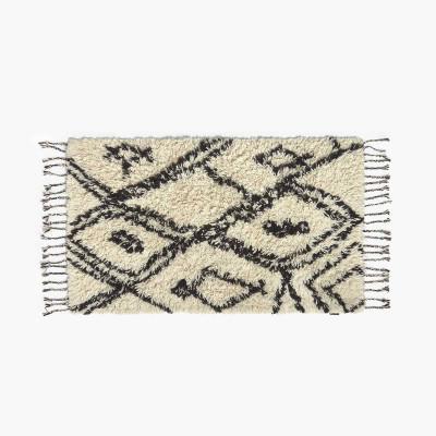 Teppich Alfombra Safro 90x150   Schwarz