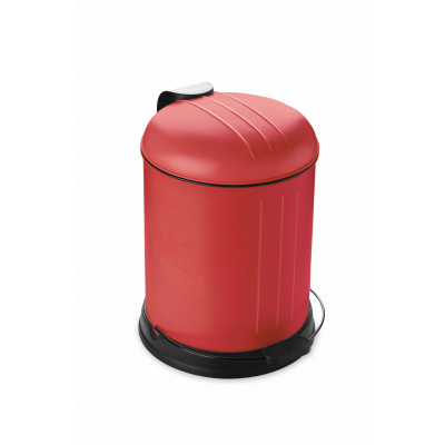 Pedal Bin with Soft Closing Lid 5 L | Red