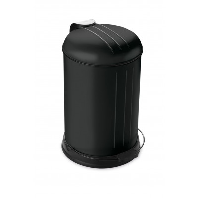 Pedal Bin with Soft Closing Lid 12 L | Black