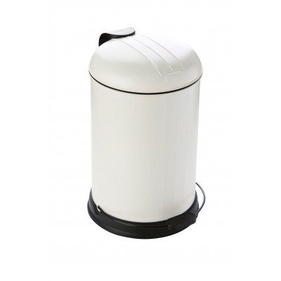 Pedal Bin with Soft Closing Lid 12 L | White