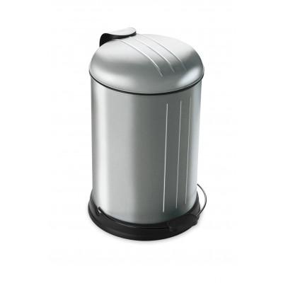 Pedal Bin with Soft Closing Lid 12 L | RVS