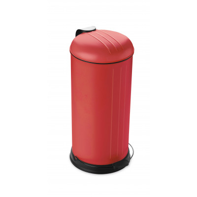 Pedal Bin with Soft Closing Lid 30 L | Red