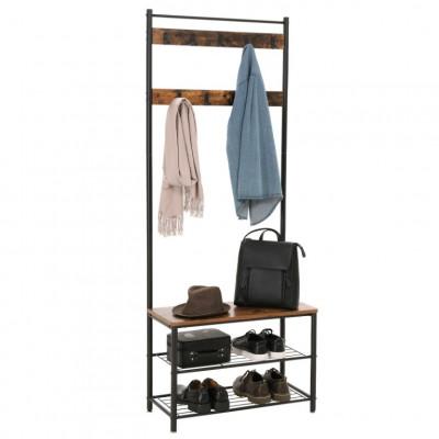 Garderobe Vintage | Metall/Holz