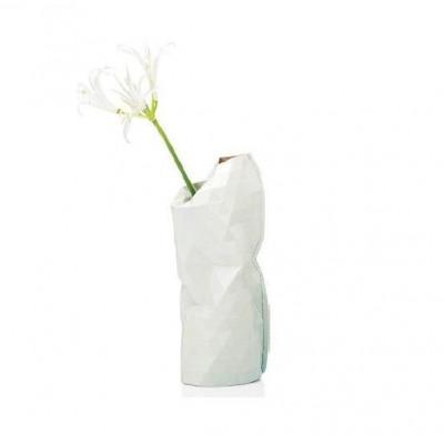 Paper Vase Cover Small | Light Grey Tones