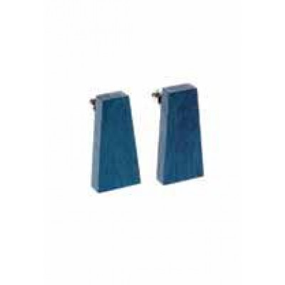 Ohrringe Geometrisch Provence Blau