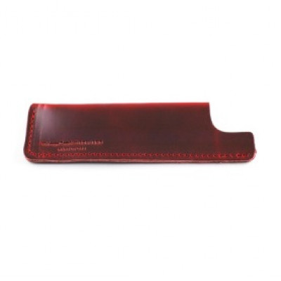 Leather Sheath | Crimson Red Horween