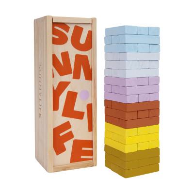 Strand Reisespiele Jumbling Tower | Multicolor