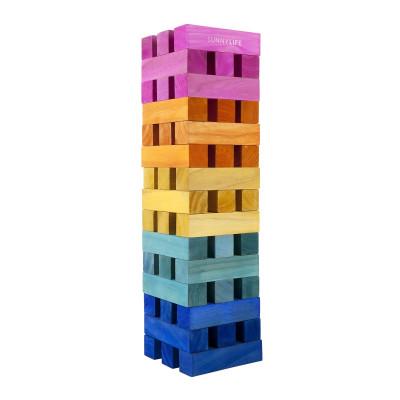 Outdoor-Spiele Mega Jumbling Tower | Multicolour