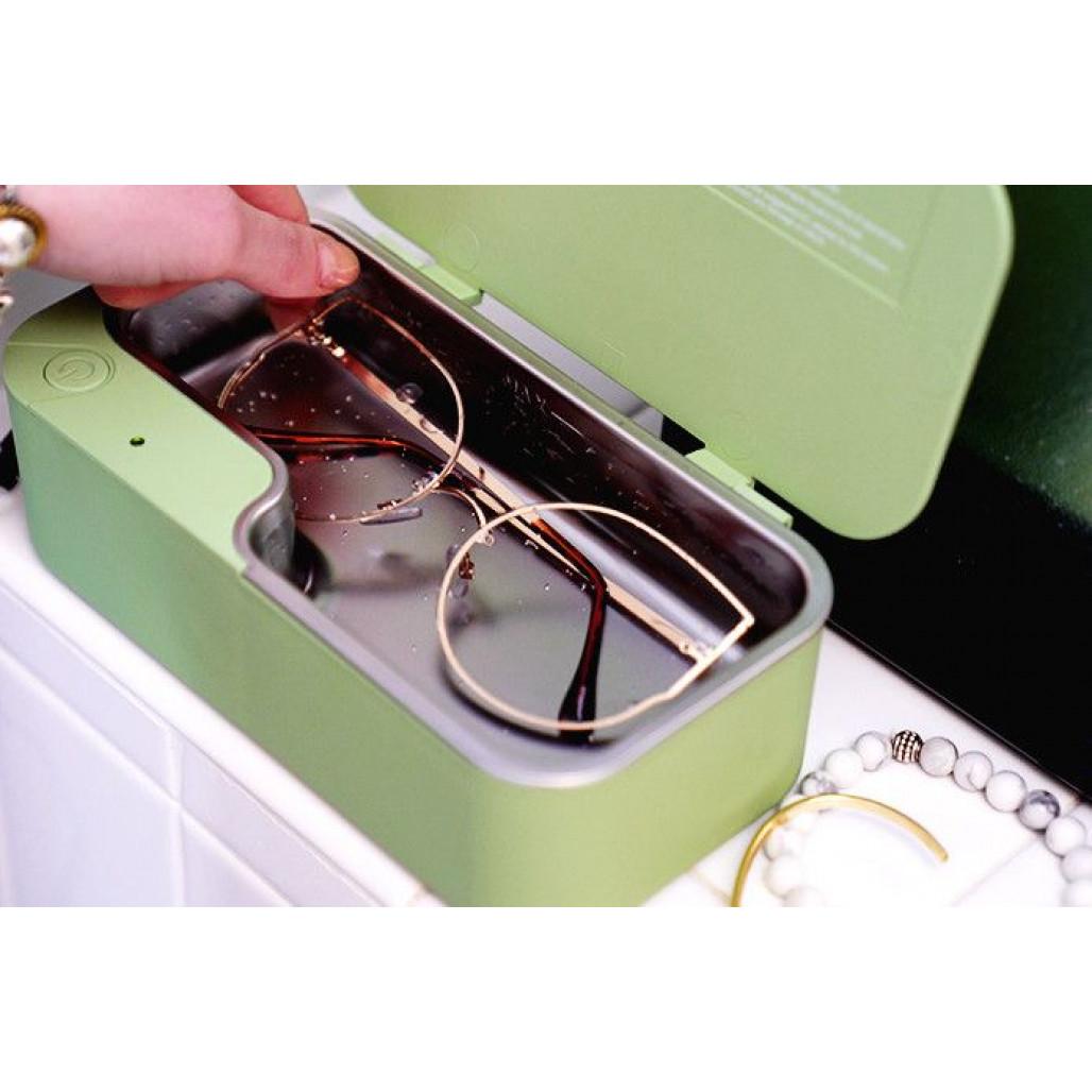 Ultrasonic Eyewear Cleaner   Sky Blue