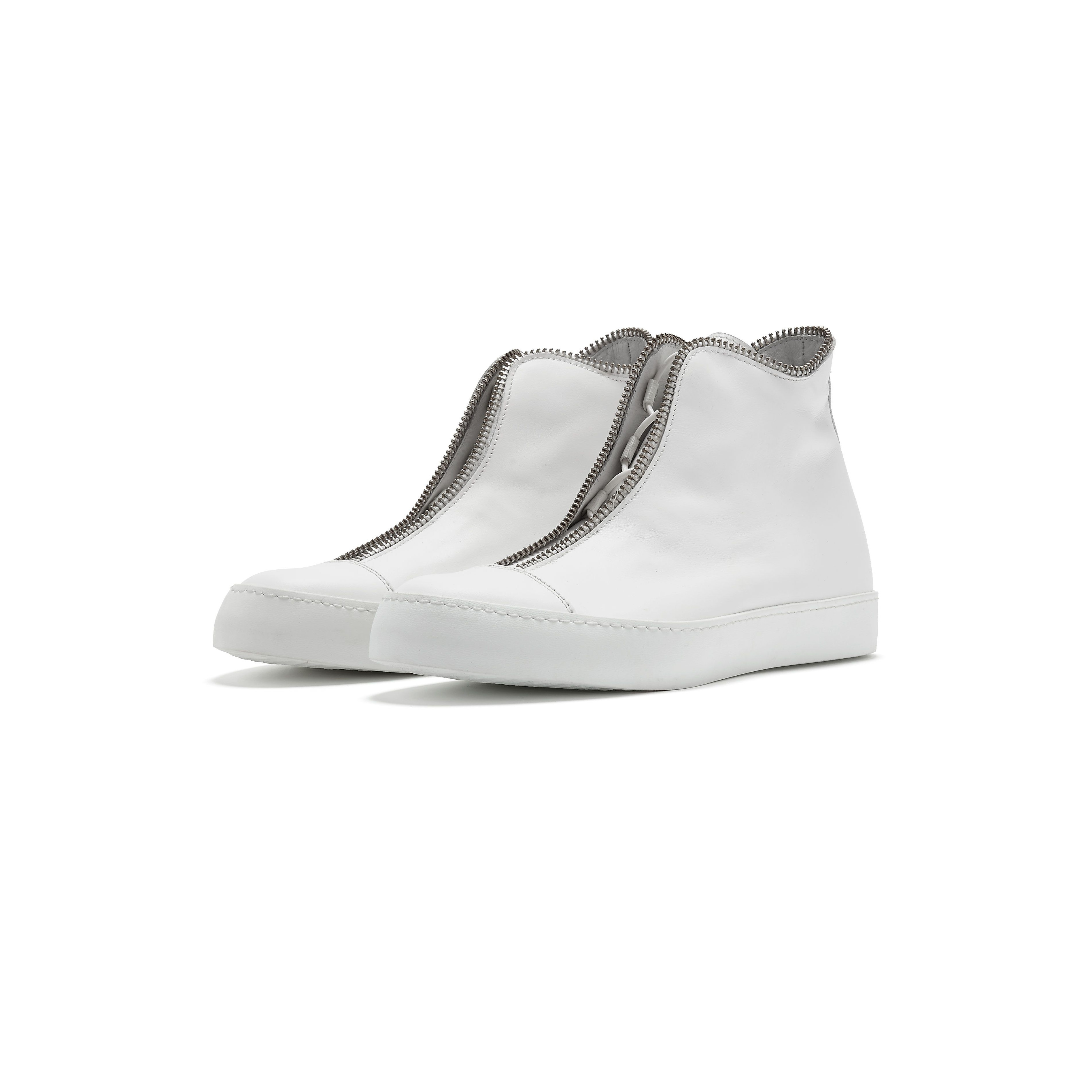 High-top Sneakers | White