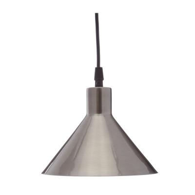Hängeleuchte Factory S18 | Nickel