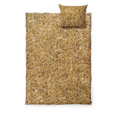 Einzel-Bettwäsche-Set | Stroh