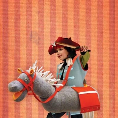 Pferdekostüm Wolle