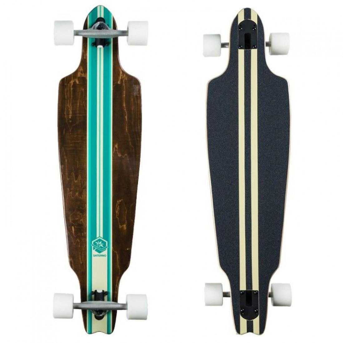 Longboard   Mint Multi Stripe
