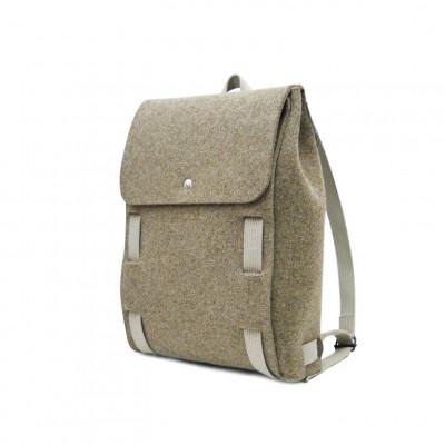 "Backpack Brown 15"" | Beige Straps"