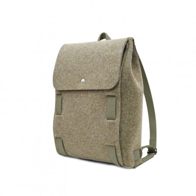 "Backpack Brown 15"" | Grey Straps"