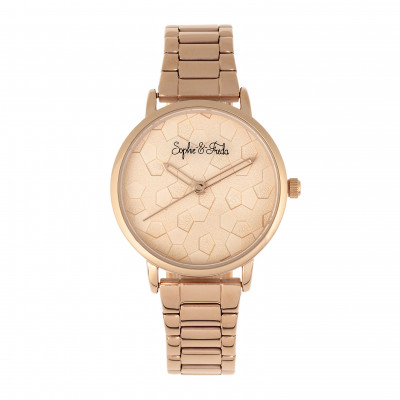 Watch Breckenridge | Rose Gold & Rose Gold Stainless Steel