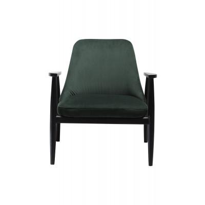 Lounge Chair Saga Velvet | Green