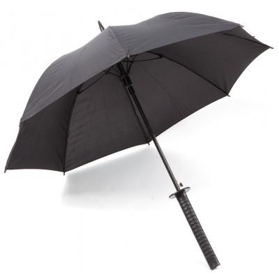 Regenschirm-Samurai | Schwarz