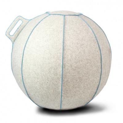 VLUV VELT Sitzball | Sand/Hellblau