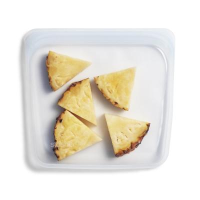 Wiederverwendbarer Sandwich-/Aufbewahrungsbeutel | Klar