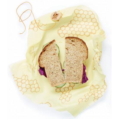 Bienenwachstuch Sandwich 33 x 33 cm