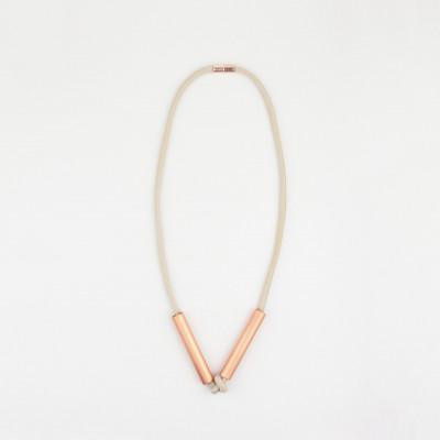 Necklace Santorini | White