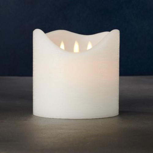 LED-Kerze Sara Exclusive   3 Flammen