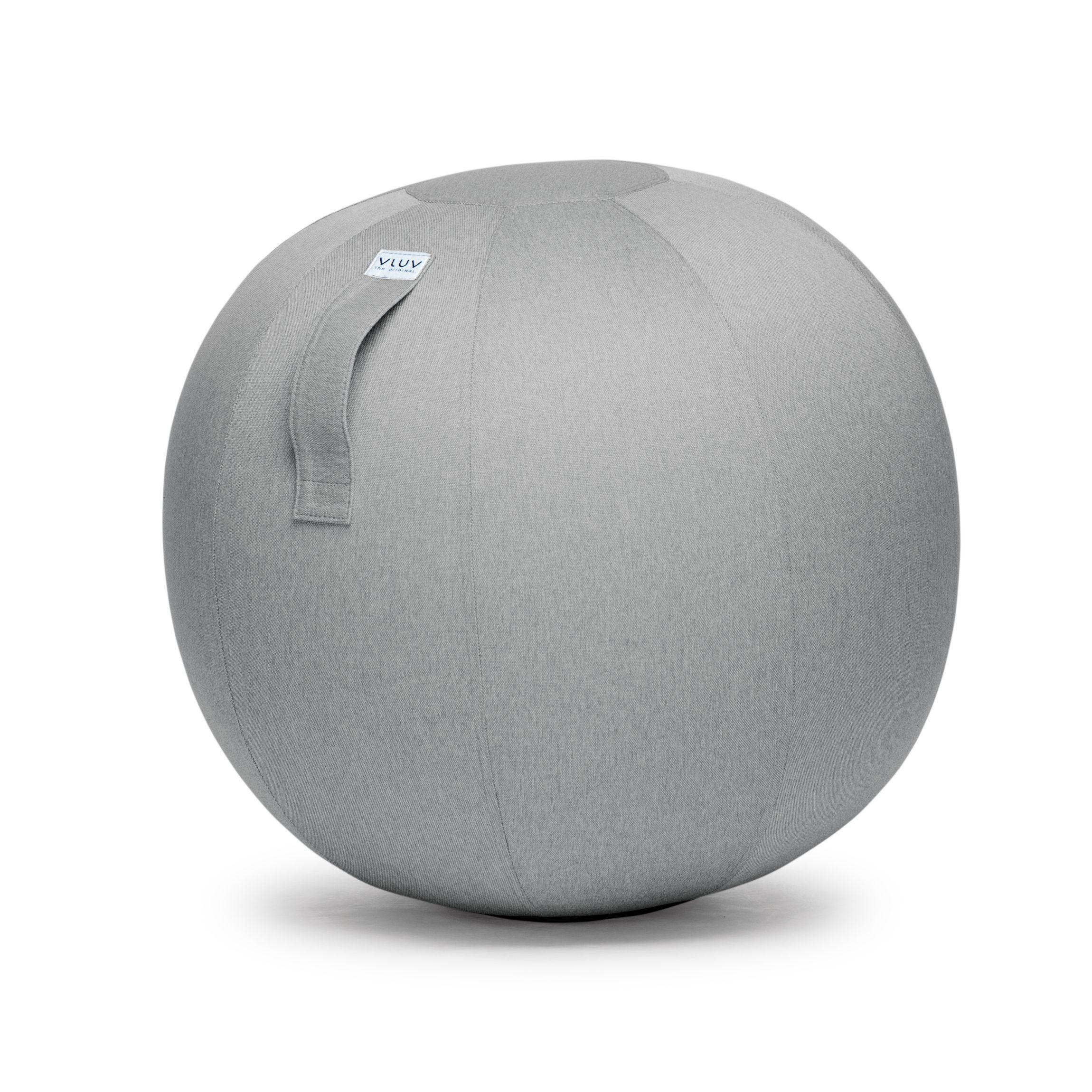 VLUV LEIV Sitzball | Silbergrau