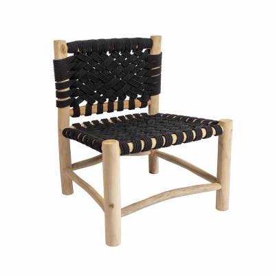 Stuhl Organic Cross | Schwarz