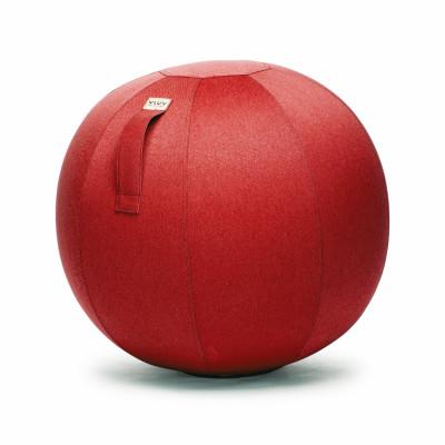 VLUV LEIV Sitzball | Rubinrot - L