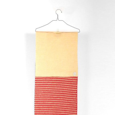 Woven Scarf   Red
