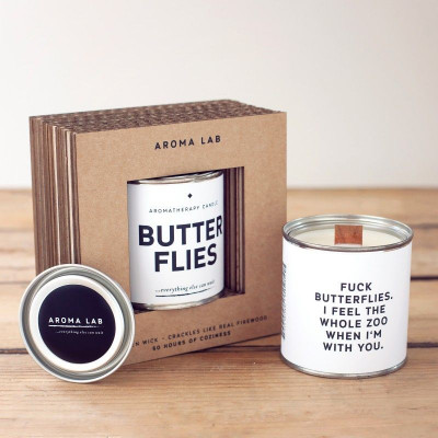 Scented Candle | Butterflies