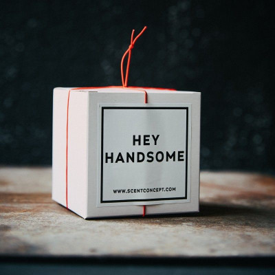 Scented Candle   Hey Handsome