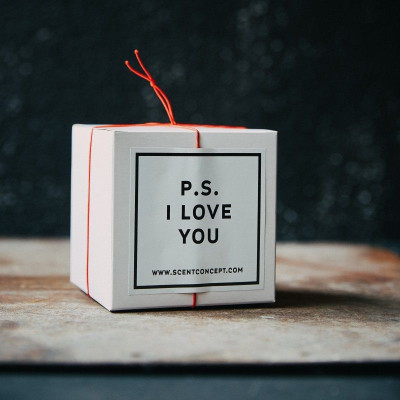 Scented Candle   P.S. I Love You