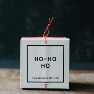 Scented Candle   Ho Ho Ho