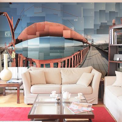 Tapete Golden Gate Bridge San Francisco - Panorama